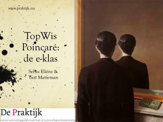 TopWis Poincaré :  de  e-klas