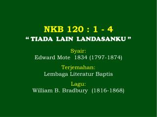 NKB 120  : 1 -  4