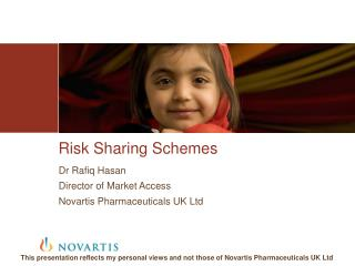 Risk Sharing Schemes
