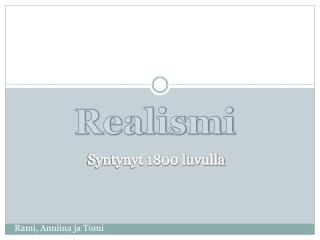 Realismi