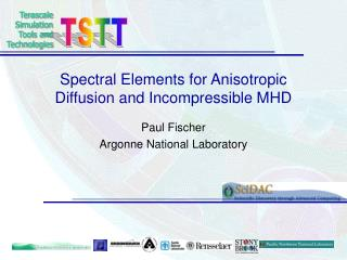 Spectral Elements for Anisotropic Diffusion and Incompressible MHD