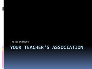 Your Teacher's Association