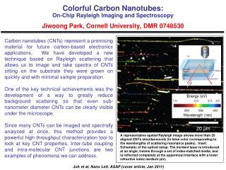 Joh et al , Nano Lett .  ASAP (cover article, Jan 2011)