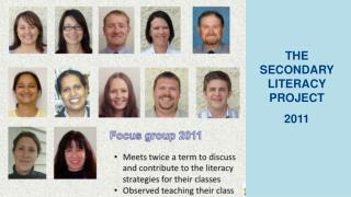 THE SECONDARY LITERACY PROJECT 2011