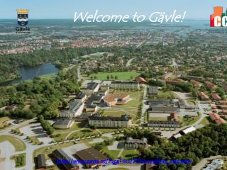 Welcome  to Gävle!