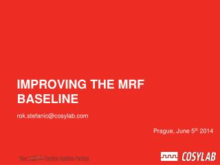 Improving the MRF baseline