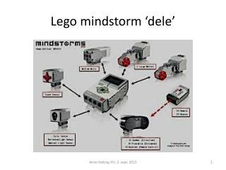 Lego  mindstorm  'dele'