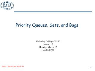 Priority Queues, Sets, and Bags