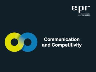 Communication  and Competitivity