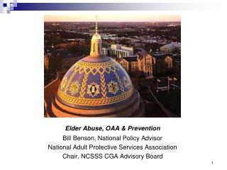 Elder Abuse, OAA & Prevention