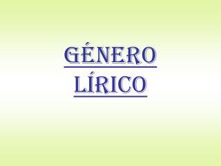 G NERO  L RICO