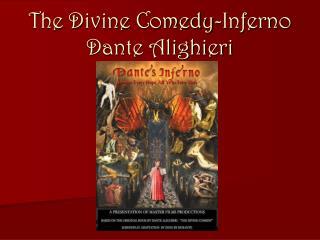 The Divine Comedy-Inferno Dante Alighieri