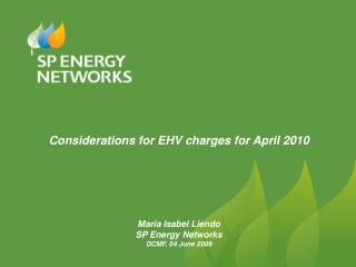 EHV charging