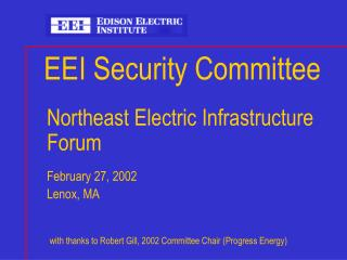 EEI Security Committee