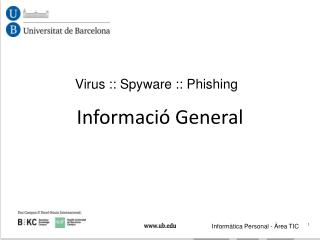 Virus :: Spyware :: Phishing