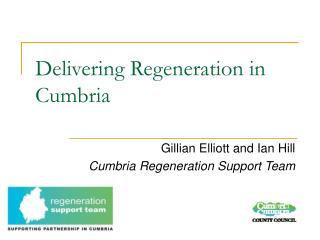 Delivering Regeneration in Cumbria
