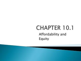 CHAPTER 10.1