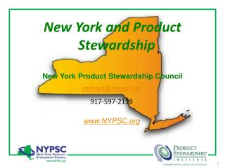 New York and Product Stewardship
