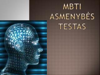 MBTI asmenybės testas