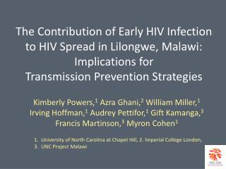 Early HIV Infection