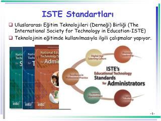 ISTE Standartları