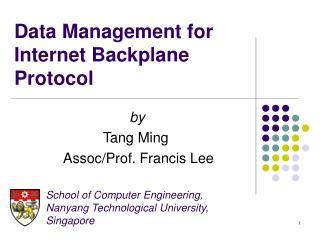 Data Management for Internet Backplane Protocol