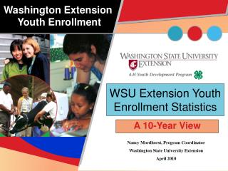 WSU Extension Youth Enrollment Statistics
