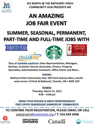 AN AMAZING JOB FAIR EVENT