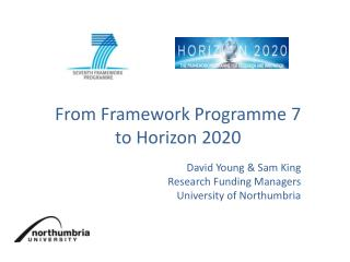 From Framework Programme 7  to  Horizon  2020