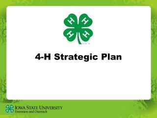 4-H Strategic Plan