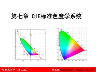 第七章  CIE 标准色度学系统