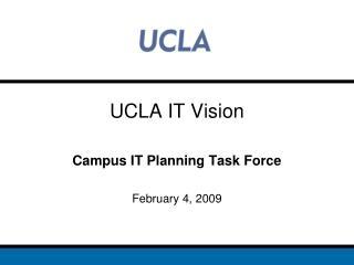 UCLA IT Vision