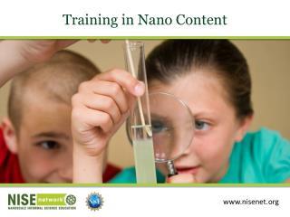 Training in  Nano  Content