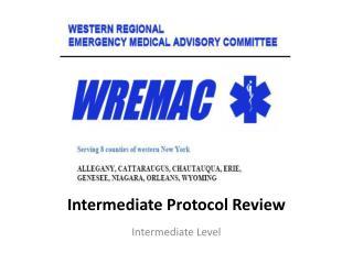 Intermediate Protocol Review