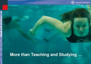 More than Teaching and Studying …