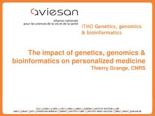 ITMO  Genetics, genomics &  bioinformatics
