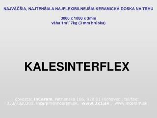 KALESINTERFLEX