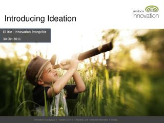 Introducing Ideation