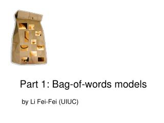 Part 1: Bag-of-words models