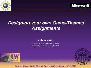 Designing your own Game-Themed Assignments