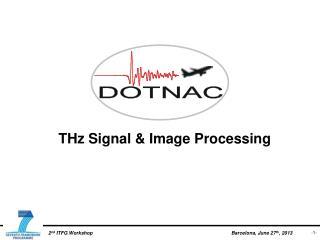 THz Signal & Image Processing
