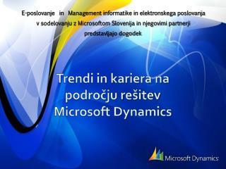 E-poslovanje  in   Management  informatike in elektronskega poslovanja