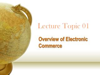 Lecture Topic 01