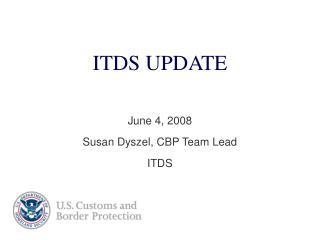 ITDS UPDATE