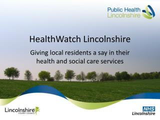 HealthWatch Lincolnshire