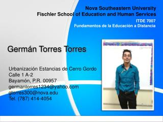 Nova Southeastern University Fischler School of Education and Human Services