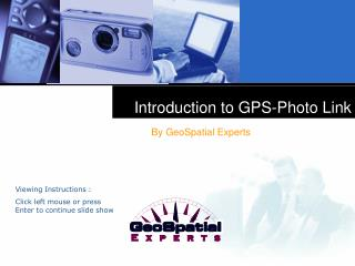 Introduction to GPS-Photo Link