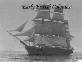 Early British Colonies