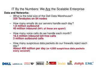 IT By the Numbers: We  Are  the Scalable Enterprise