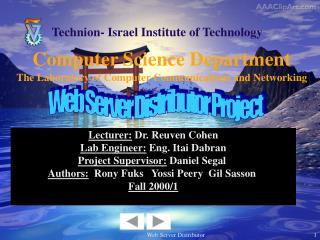 Computer Science Department